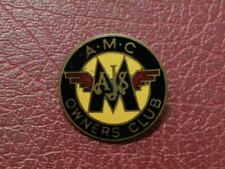 A.M.C. OWNERS CLUB MOTORCYCLE BADGE  (2570)