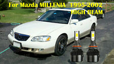 LED For Mazda MILLENIA 1995-2002 Headlight Kit 9005 HB3 CREE Bulbs HIGH Beam