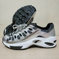 Puma Cell Endura X Blends Aged Silver Grey Comfort Shoes Size 9.5 (37033401)