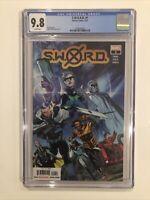 S.W.O.R.D. #1 CGC 9.8 Valerio Schiti cover Sword AL EWING