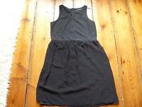 THE KOOPLES BLACK DRESS, 36, 6-8
