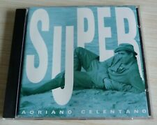 RARE CD ALBUM BEST OF SUPER ADRIANO CELENTANO 18 TITRES 1992 COMPILATION
