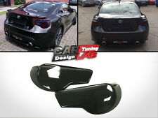 Black Smoked Acrylic Tail Light Cover 2pc For Toyota GT 86 Scion FRS Subaru BRZ