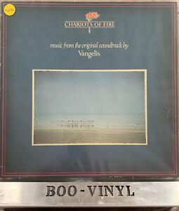 Chariots of Fire Vinyl LP Original Soundtrack by Vangelis 1981  EX / VG+ Con