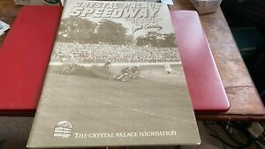 CRYSTAL PALACE SPEEDWAY--THRILLS AND SPILLS OF THE 20'S+30'S--BOOK