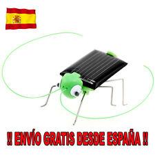 Saltamontes Solar. Juguete solar educativo