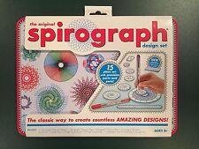 NEW Original Spirograph Design 15 Piece Set Arts Crafts Travel Tin Kahootz