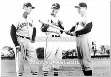 St. Louis Cardinals- Stan Musial, Ted Williams, Mickey Mantle -Yankees, Red Sox