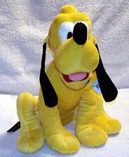 "Walt Disney's Pluto 13"" Plush Stuffed Animal Dog by 2012 Just Play"