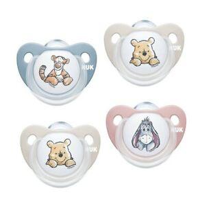 NUK Disney Winnie the Pooh Trendline Silikon-Schnuller in, kiefergerechter Form
