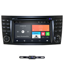 """Android 9.0 7"""" Car GPS Radio Stereo DVD Player for Mercedes Benz E W211 4G Wifi"""