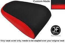 RED & BLACK VINYL CUSTOM FITS YAMAHA MT 03 06-13 REAR PILLION SEAT COVER ONLY