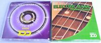 BASS GUITAR STRINGS packs for 4 or 5 string bass electric