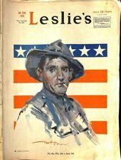 Leslies, January 25 1919