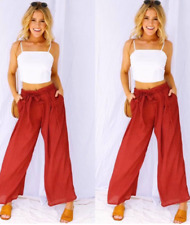 Terno White Top And Red Pants  (10)