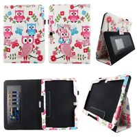 white owl Fit for Samsung Galaxy Tab 4 10.1 10 inch Tablet Case Cover ID Slot