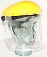 10 X Eseno Industrial Clear Mask Screen Face Visor Shield Adjustable BULK Buy