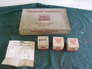 Ford 1966 1964 1957 Thermostat Dealer Display Sign FoMoCo OEM 64