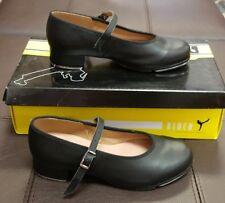 Tap Shoe S0302L Black Mary Jane Buckle Leather Child St Sz 1.5 - 2 Bloch Sz 4M