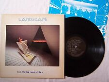 LANDSCAPE - FROM THE TEA ROOMS OF MARS WITH INNER ~ UK 10 TRACK ALBUM ~ EX