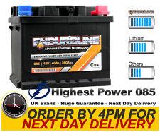085 High Power Enduroline Calcium Car Battery - More Power than AGM and EFB