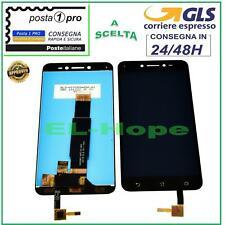 DISPLAY LCD ASUS ZENFONE LIVE ZB501KL A007 TOUCH SCREEN SCHERMO VETRO NERO