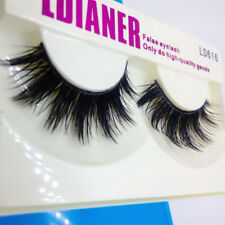 Mink Handmade Cross Long Extension False Eye Lashes Natural Fake Eyelashes