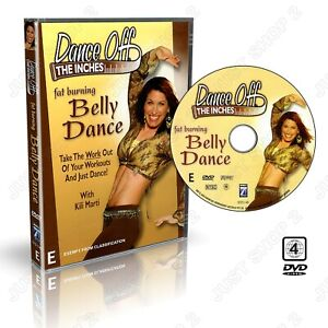 Exercise DVD : Belly Dance - Fun Cardio Fat Burning Workout  : Brand New