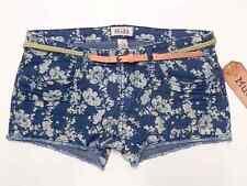 Mudd® Junior's Fraded / Cuffed Shortie Shorts