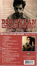 "BOB DYLAN ""Life And Life Only - Radio & TV 1961-1965"" (CD) 2011 NEUF"