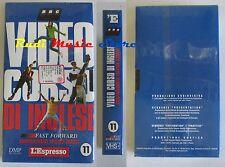 film VHS VIDEOCORSO DI INGLESE CARTONATA L'ESPRESSO VOL. 11   (F30) no dvd