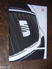 Seat Range (Ibiza, Leon, Altea, Exeo, Alhambra) Prospekt / Brochure, D, 12.2010