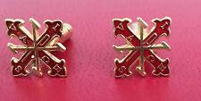 Gemelli Sacro Militare Ordine Costantiniano di San Giorgio in argento 925