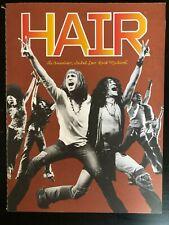 HAIR Broadway Souvenir Program – Gavin Creel, Will Swenson, Caissie Levy