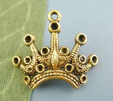 20 Pendentifs Breloques Charms Belle Couronne Bijoux Accessoire 18*24mm