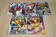 lot 5 Comics Wolverine tomes 5 7 8 10 et Hors série Avengers vs Xmen - Marvel