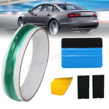 5M Knifeless Finish Cutting Line Tape+ Squeegee Graphic Vinyl Car Trim Wrap Tool