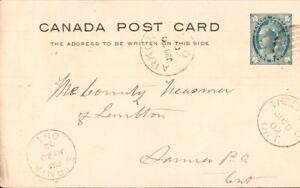 Canada Postal Stationary Cover  Berlin Ontario Postmark  + others  pb6