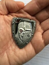 American Sniper Knights Templar Armor God Shield Cross 3D Challenge Coin DEVGRU