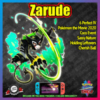 New ZARUDE Mythical | Pokemon Movie 2020 Event | 6IV |  Pokemon Sword Shield
