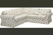 Ikea Ektorp Videslund Floral COVER For 2 Plus 2 Corner Sofa Brand New