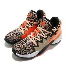 adidas D.O.N. Issue 2 II Donovan Mitchell Leopard Beige Men Basketball FY0895