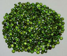 3mm Top Quality Calibrated Green Russian Chrome Diopside Brilliant Round Cut