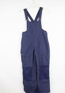 Columbia Snow Ski Adjustable Pants Bib Overalls Navy Blue XL Youth 14/16