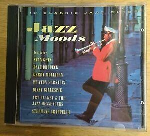 Jazz Moods: 12 Classic Jazz Cuts - Various Artists - CD Album - Brand New