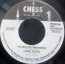 """Tommy Tucker - HI HEELED SNEAKERS - DALE HAWKINS Promo Vinyl 7"""" Single  [1984]"""