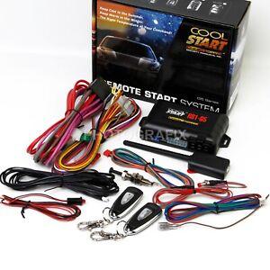 Crimestopper Cool Start RS1-G5 Universal Remote Start & Keyless Entry System
