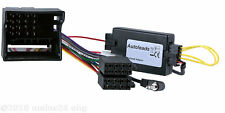 OPEL Astra H RadioAdapter CAN-Bus Lenkrad Fernbedienung Interface SONY PIONEER