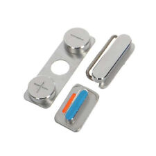 Set Boutons Remplacement Volume Power On/Off Vibreur pour iPhone 4 4s