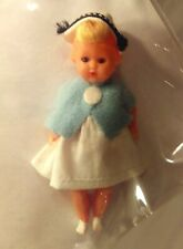 Vintage Doll Nurse Miniature Jointed Made in Italy Sleepy Eyes Open and Close